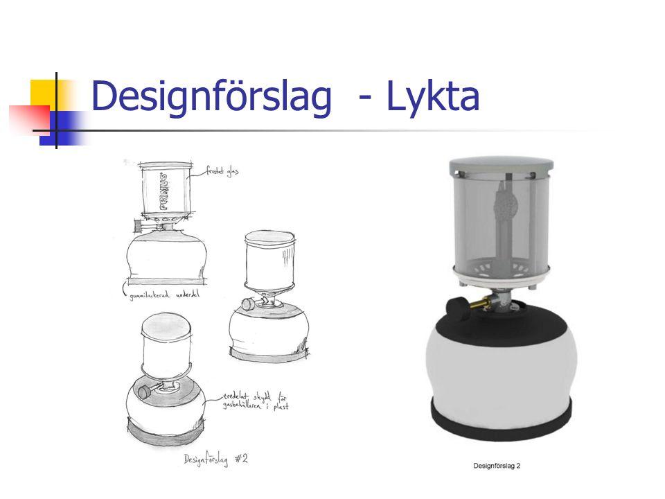 Designförslag - Lykta