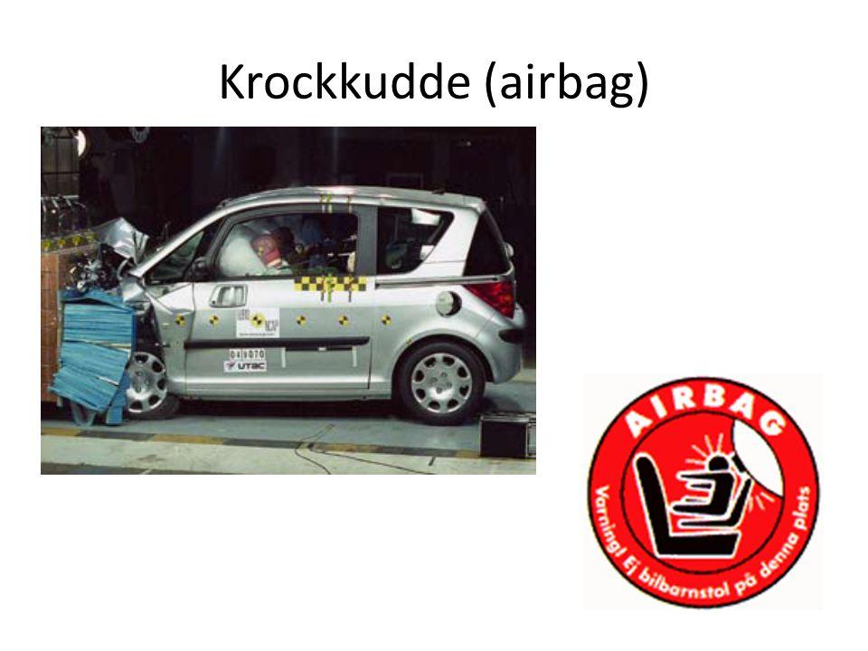 Krockkudde (airbag)