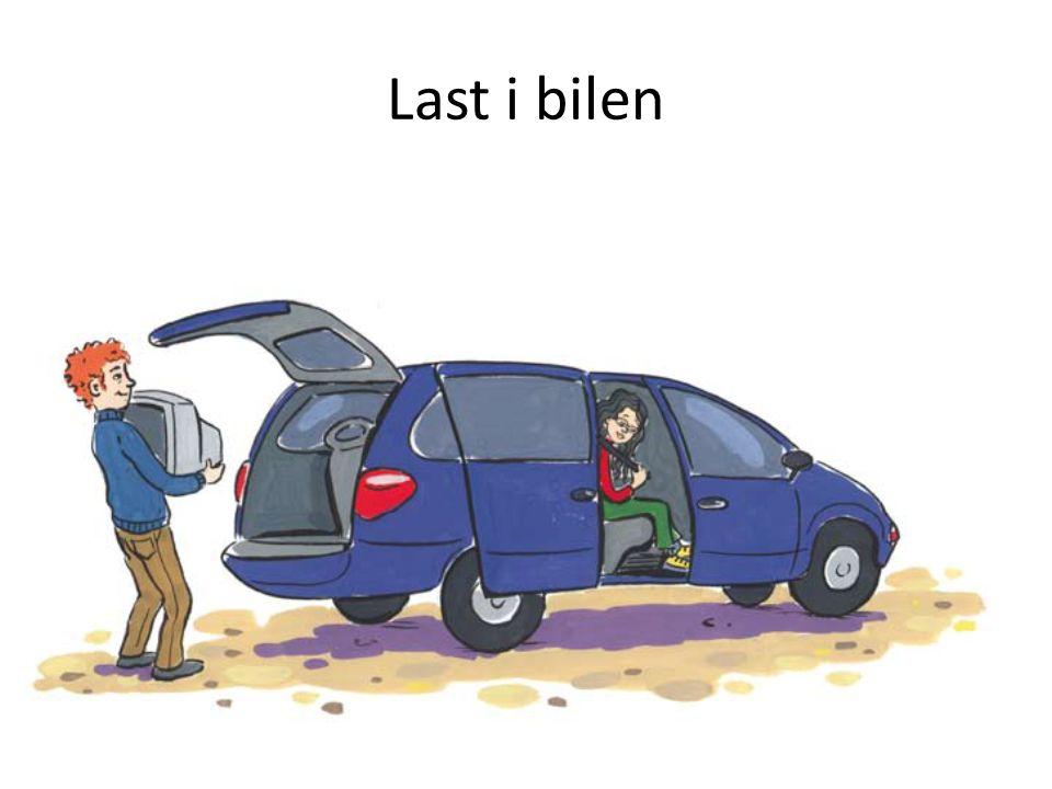 Last i bilen