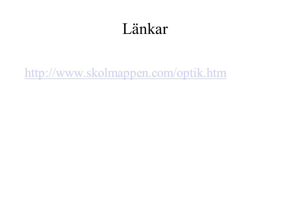 Länkar http://www.skolmappen.com/optik.htm