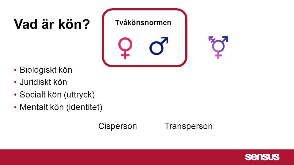 Vad är kön.