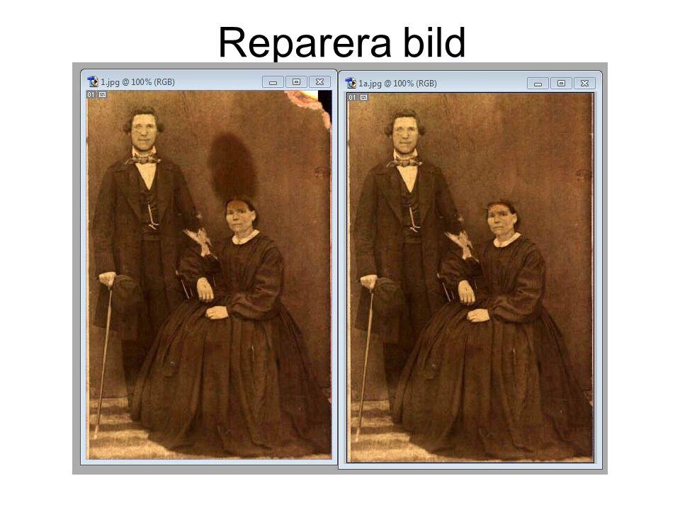 Reparera bild
