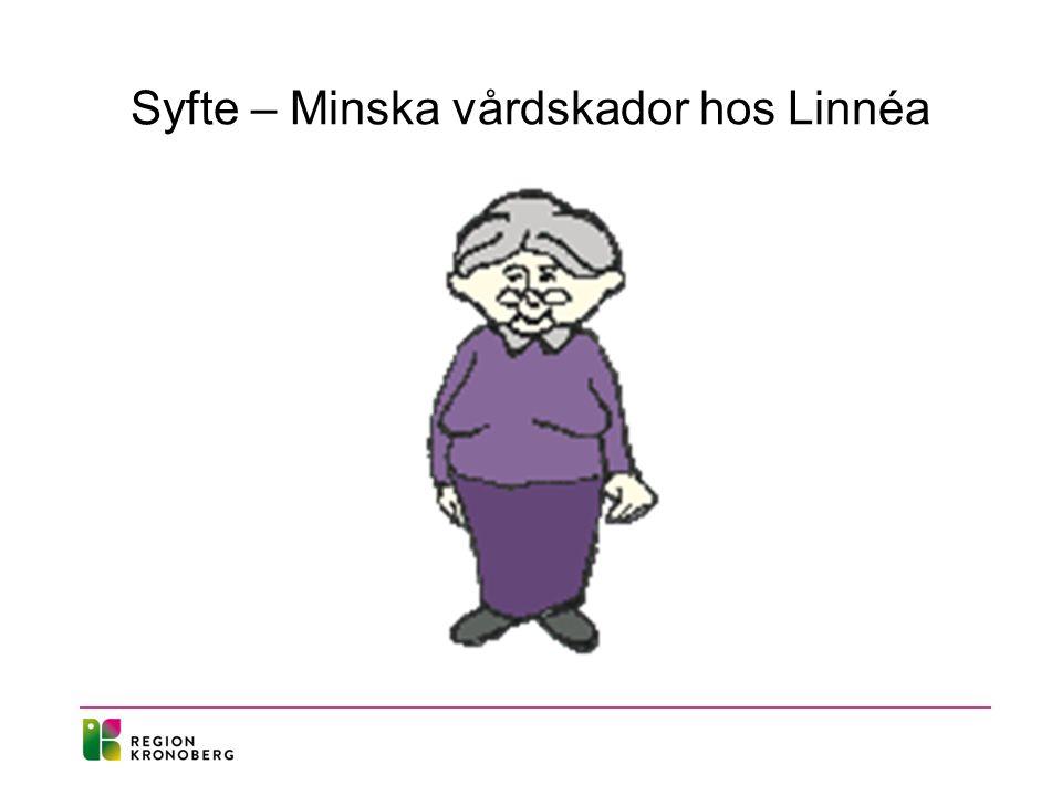 Syfte – Minska vårdskador hos Linnéa