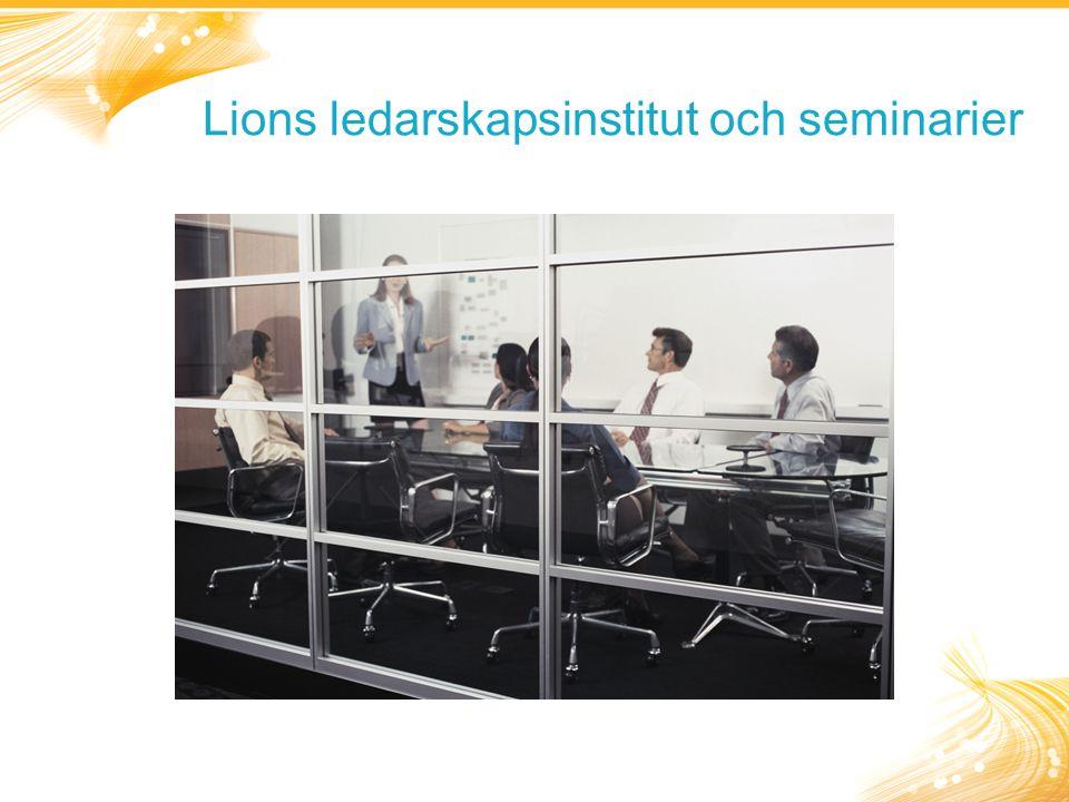 Lions ledarskapsinstitut och seminarier