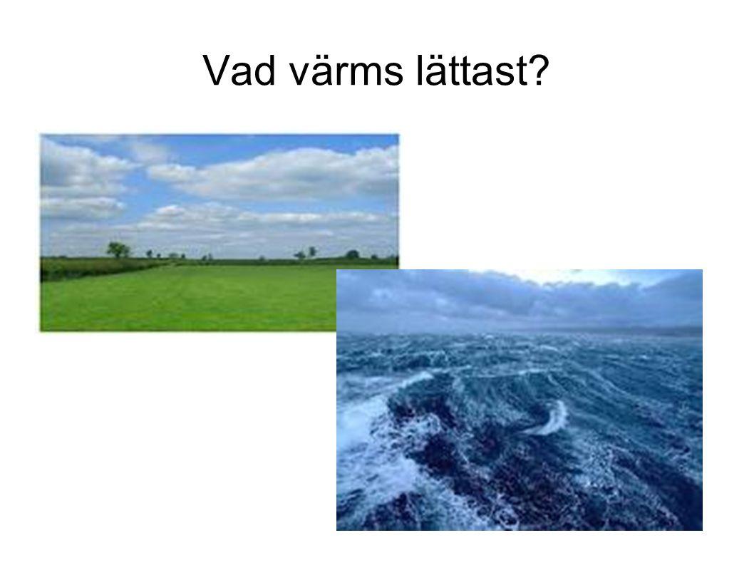 Det här ger upphov till havsströmmar och vindar