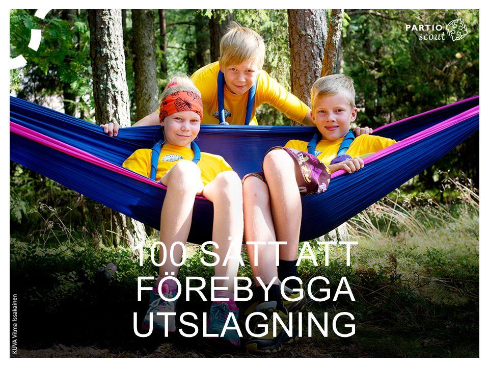 100 SÄTT ATT FÖREBYGGA UTSLAGNING