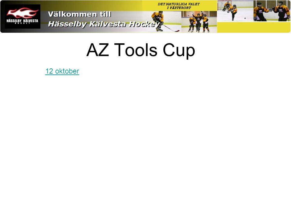 AZ Tools Cup 12 oktober