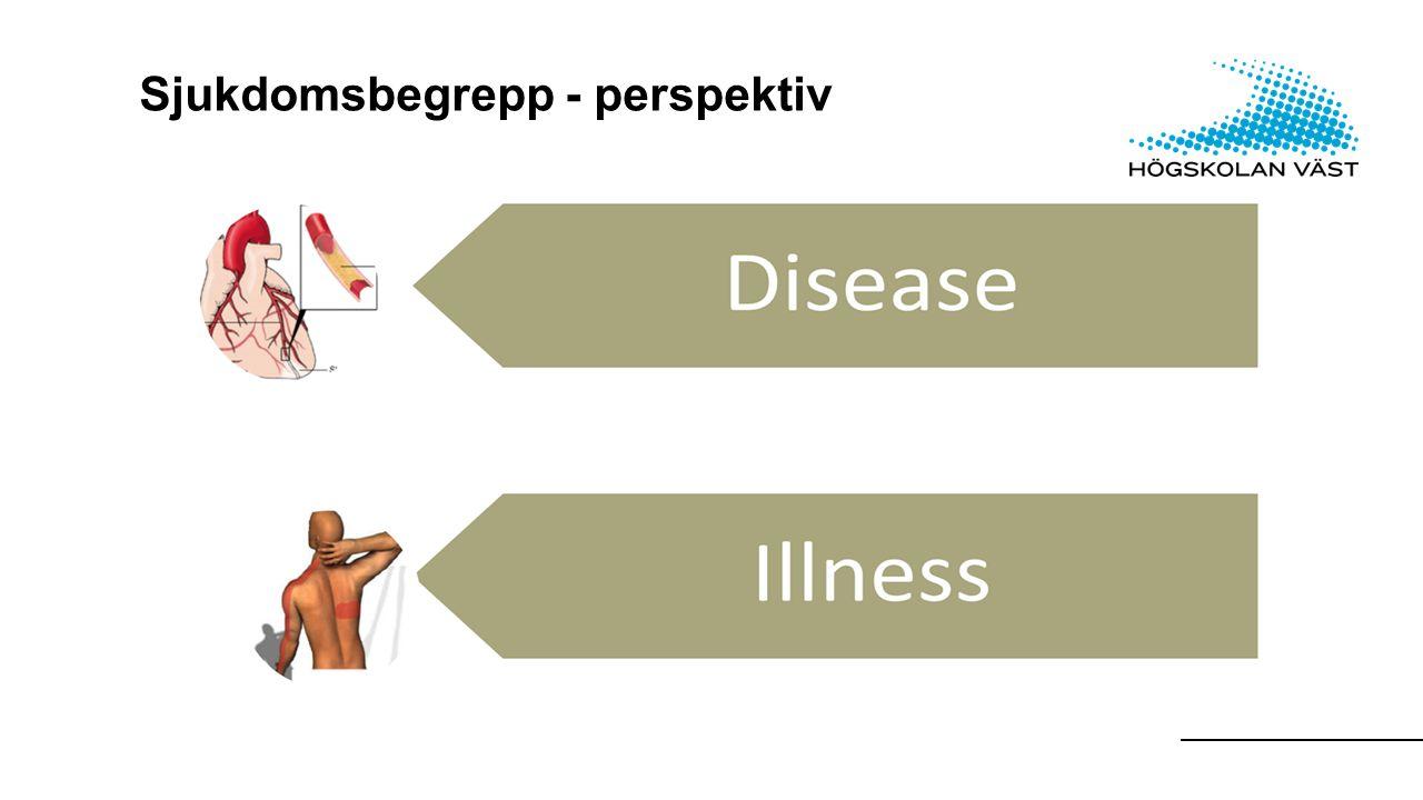 Sjukdomsbegrepp - perspektiv