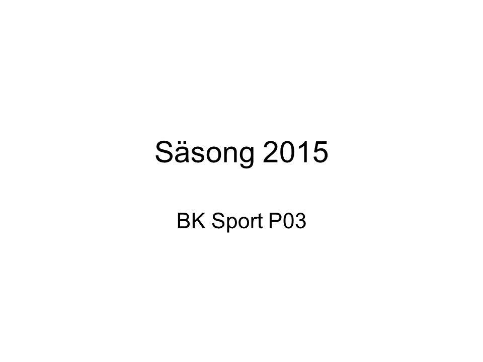 Säsong 2015 BK Sport P03