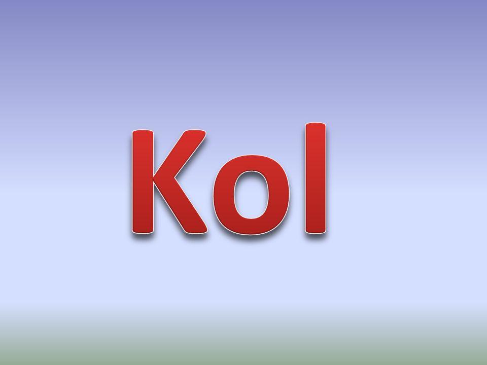 Kol- C Har atomnummer 6 Kan binda tillfyra andra atomer