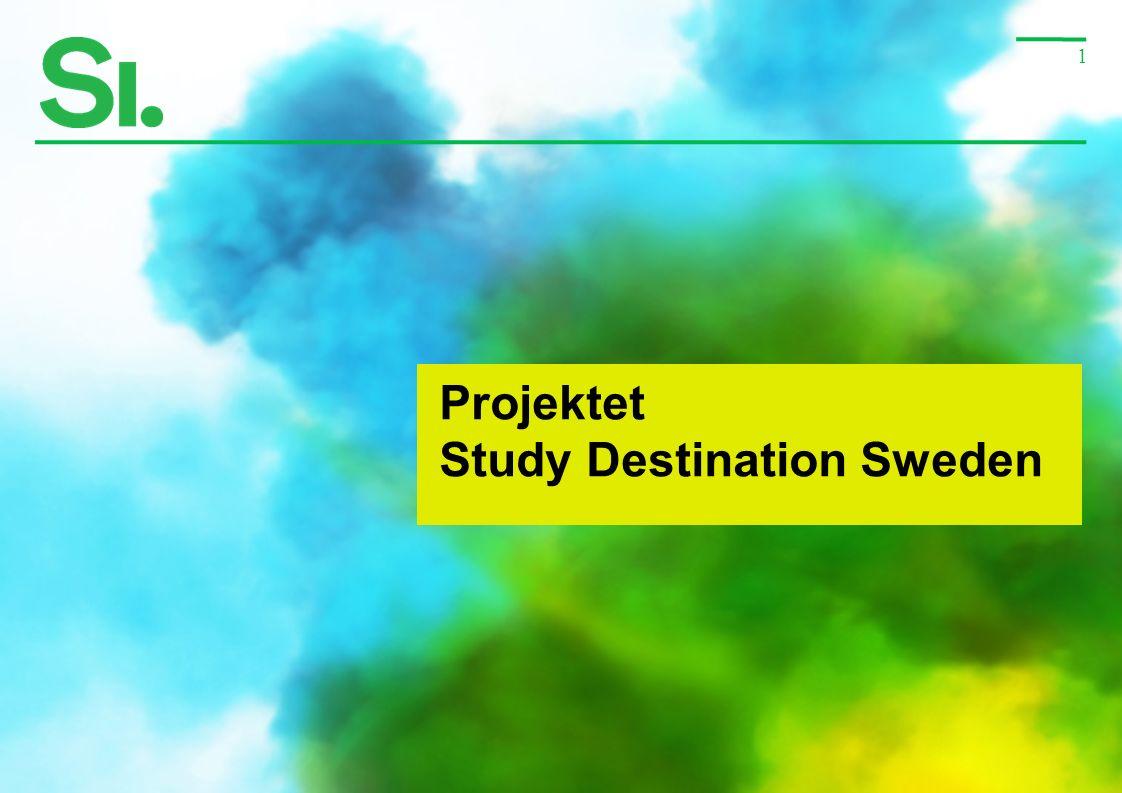 1 Projektet Study Destination Sweden