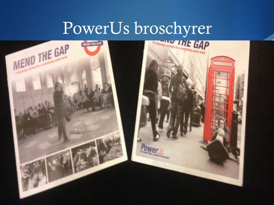 PowerUs broschyrer