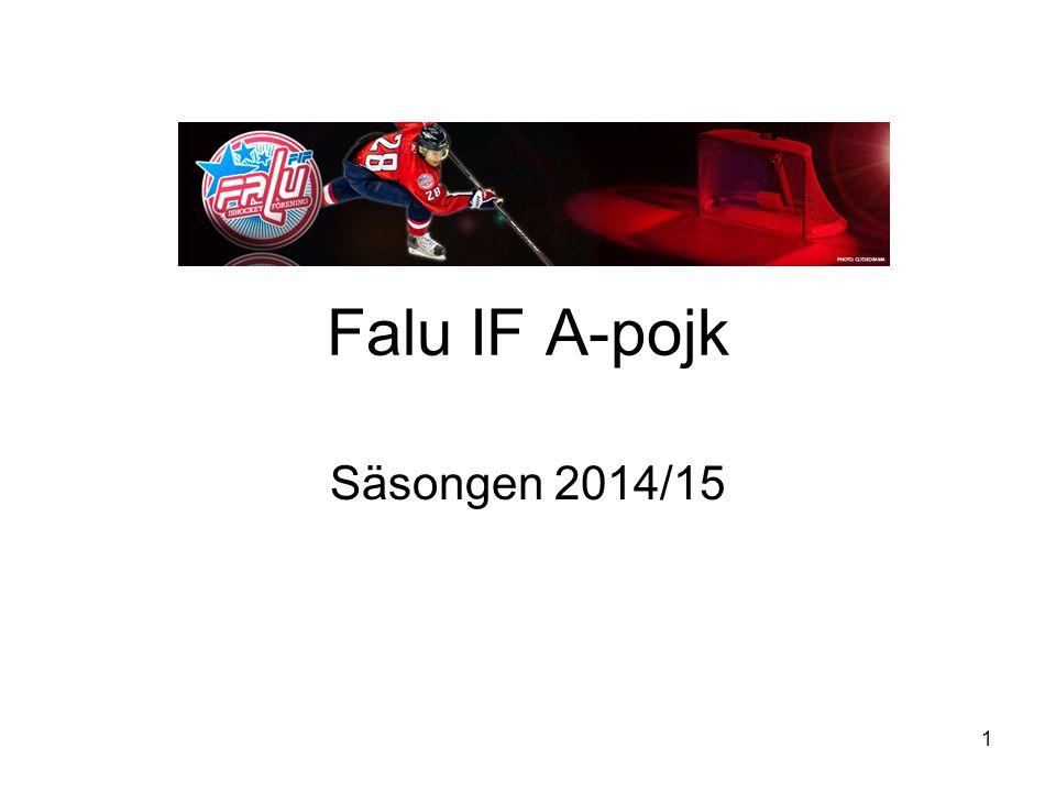 Falu IF A-pojk Säsongen 2014/15 1