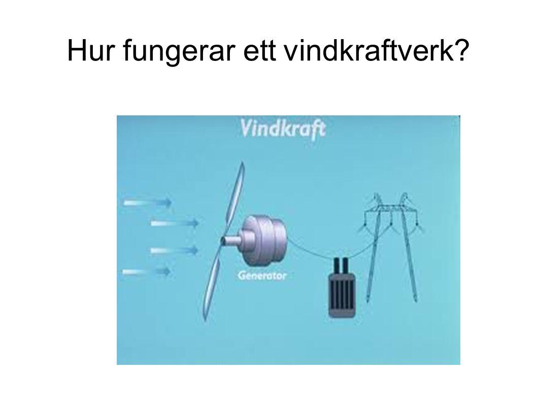 Hur fungerar ett vindkraftverk