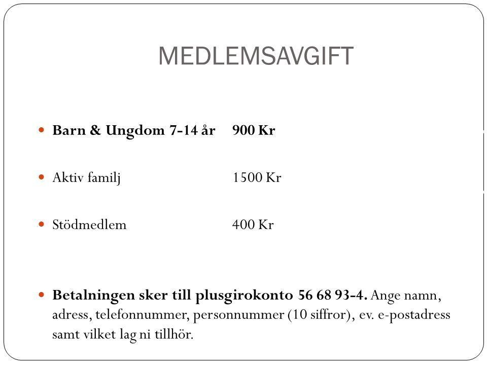 MEDLEMSAVGIFT Kungsbacka IF är en av Kungsbackas största idrottsföreningar.