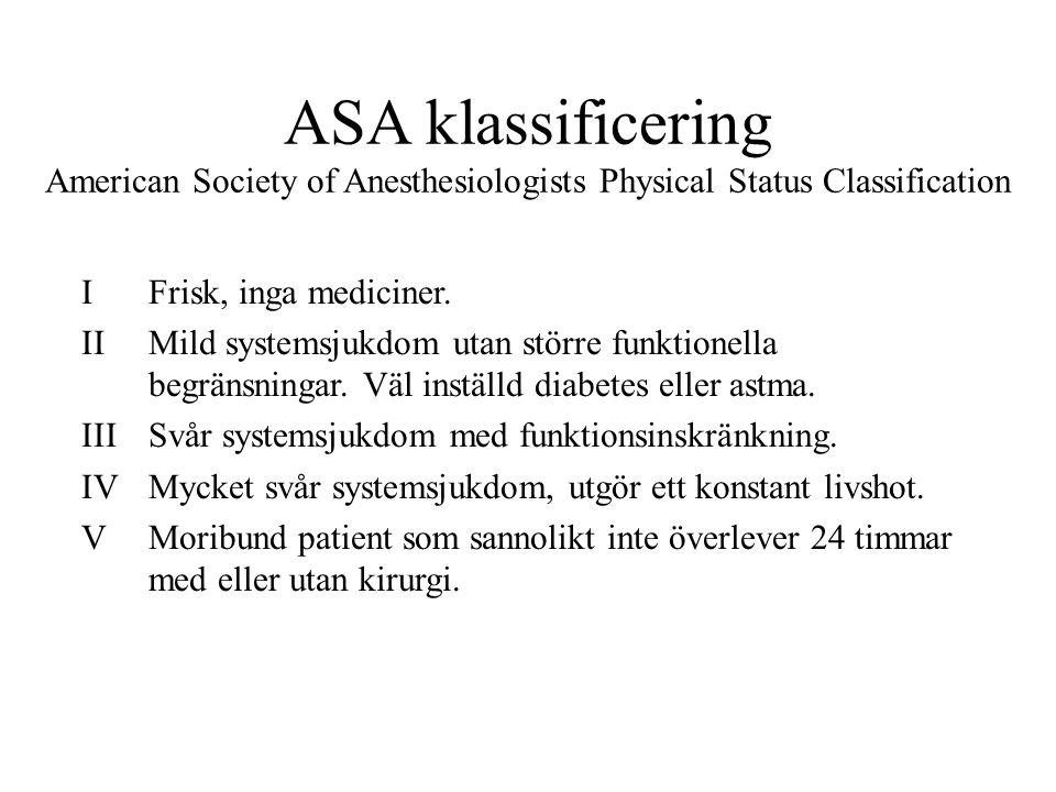 Respiration Bedöma respirationen: Gasutbytet (saturation, blodgas) Cyanos (titta på patienten, sat) Andningsfrekvens (räkna) Indragningar (titta) Stridor (lyssna) Auskultation, perkussion (lyssna) Lungröntgen Orsaker: Astma KOL Pneumoni Hjärtsvikt Muskelsvaghet Grav skolios Pneumothorax ARDS