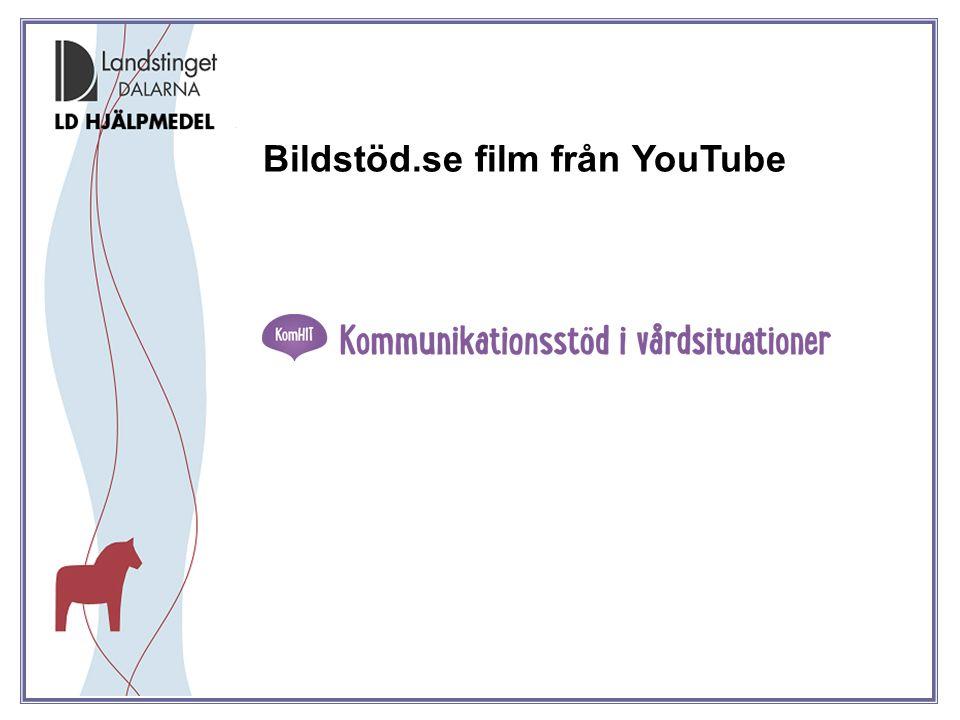 Bildstöd.se film från YouTube