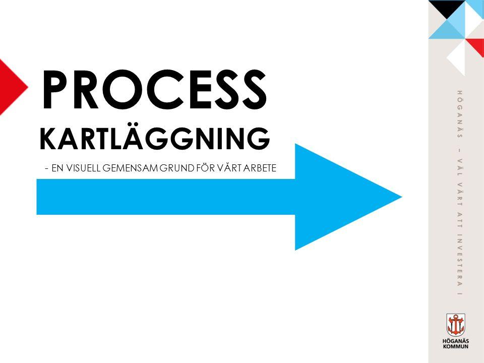 PROCESS KARTLÄGGNING - EN VISUELL GEMENSAM GRUND FÖR VÅRT ARBETE