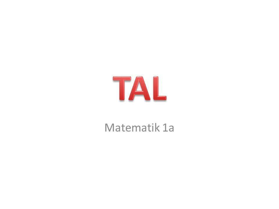 Matematik 1a