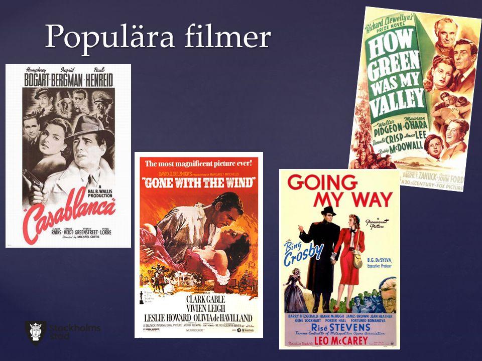 Populära filmer