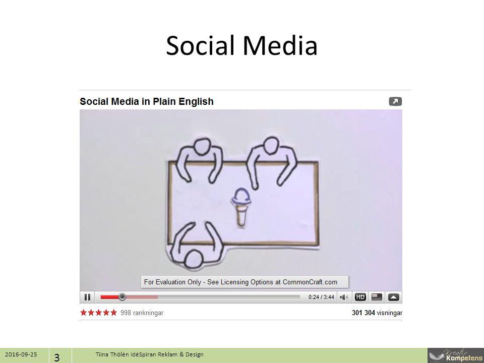 Social Media 2016-09-25 3 Tiina Thölén IdéSpiran Reklam & Design