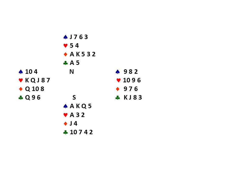  J 7 6 3 5 4  A K 5 3 2  A 5  10 4 N  9 8 2 K Q J 8 7 10 9 6  Q 10 8  9 7 6  Q 9 6 S  K J 8 3  A K Q 5 A 3 2  J 4  10 7 4 2