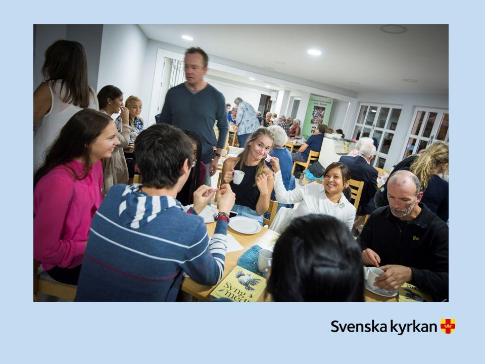 Svenska kyrkan i utlandet vill… …skapa rum för tro i möten och närvaro …resa upp i öppenhet och omsorg …sända ut med hopp och engagemang