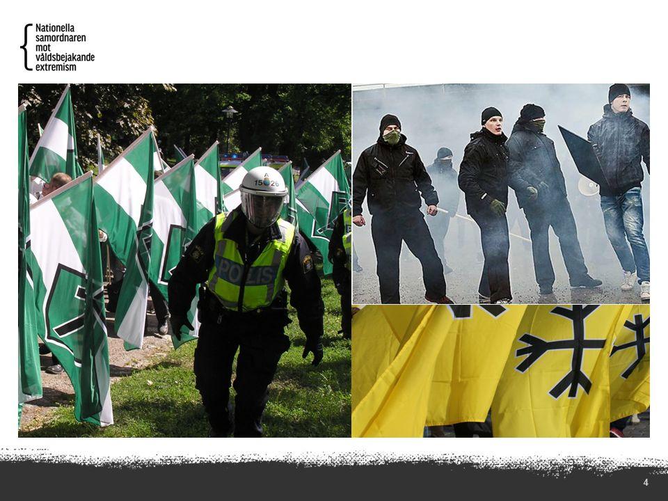 5 AFA: Vi anser att fascismen måste bekämpas både ideologiskt och fysiskt, i alla dess former varhelst den visar sig.