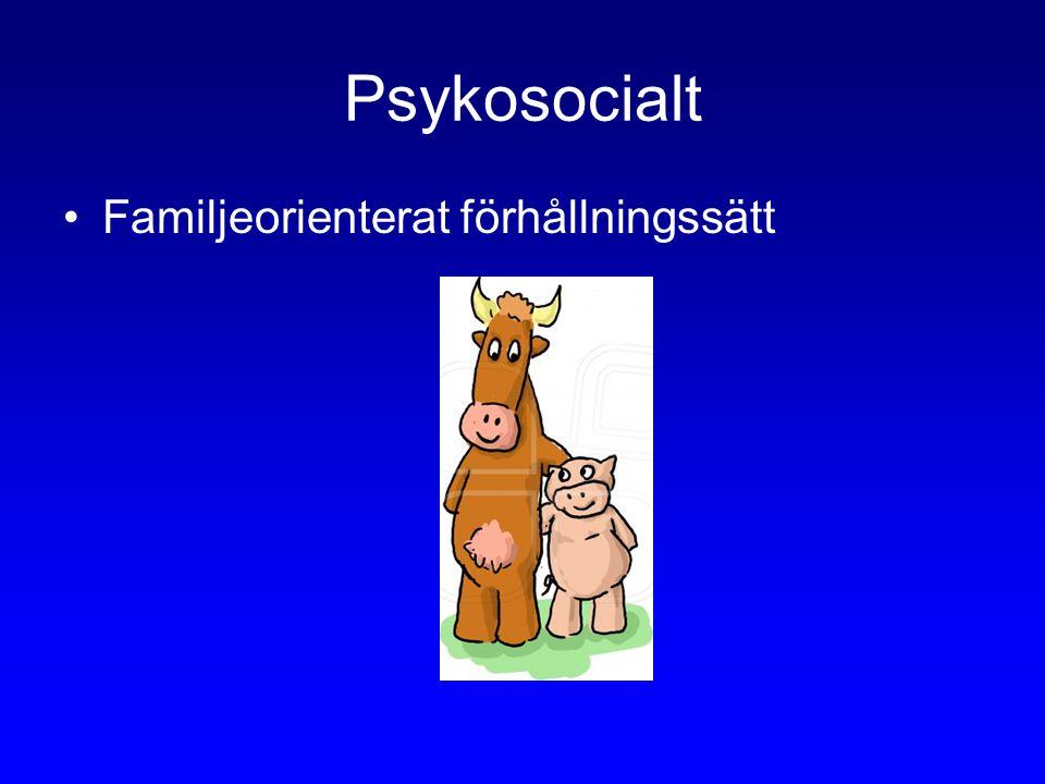 Psykosocialt Familjeorienterat förhållningssätt