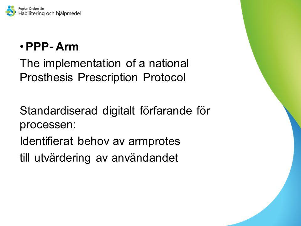 Tagits fram i samarbete mellan patienter, rehabteam, ortopedtekniska verksamheter och försäkringsbolag (kostnadsansvariga) Baserat på ICF Paula Wijdenes, Holland