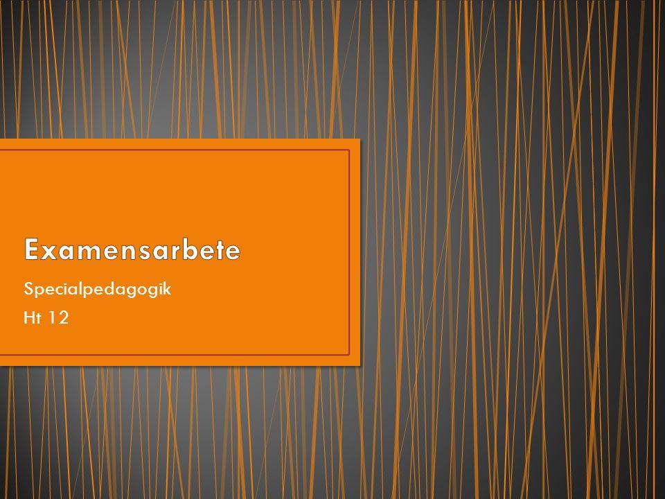 Introduktion 7 sept kl 1315-16, 12:131 Erfarenhetsutbyte/diskussion och information inför ventileringen 5 december kl 1315-1600, 12:131 Ventilering 12 januari 2013, sal 12:131