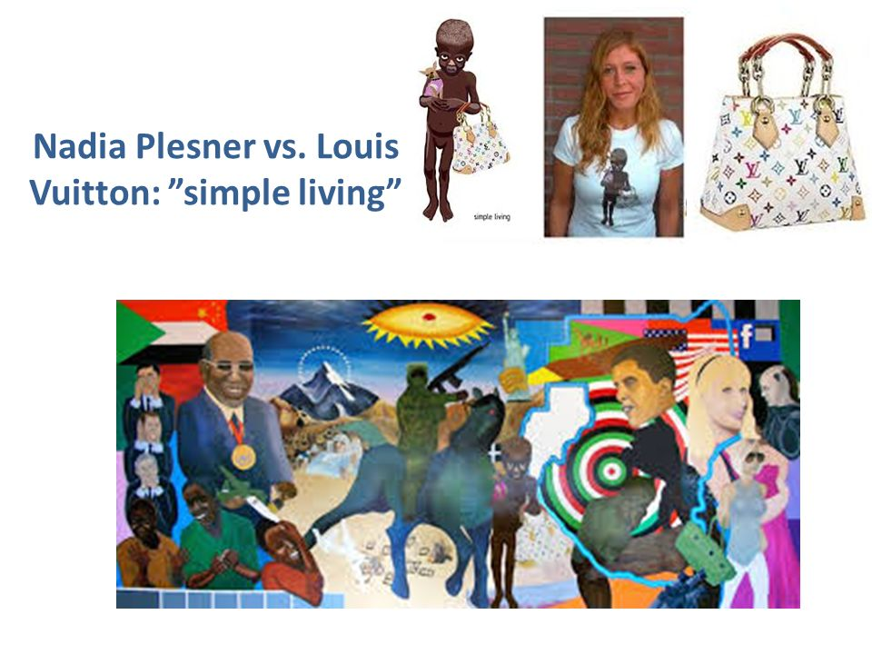 Nadia Plesner vs. Louis Vuitton: simple living