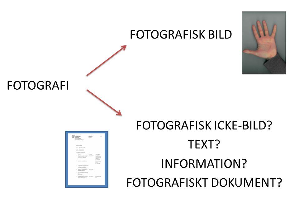 FOTOGRAFI FOTOGRAFISK BILD FOTOGRAFISK ICKE-BILD TEXT INFORMATION FOTOGRAFISKT DOKUMENT