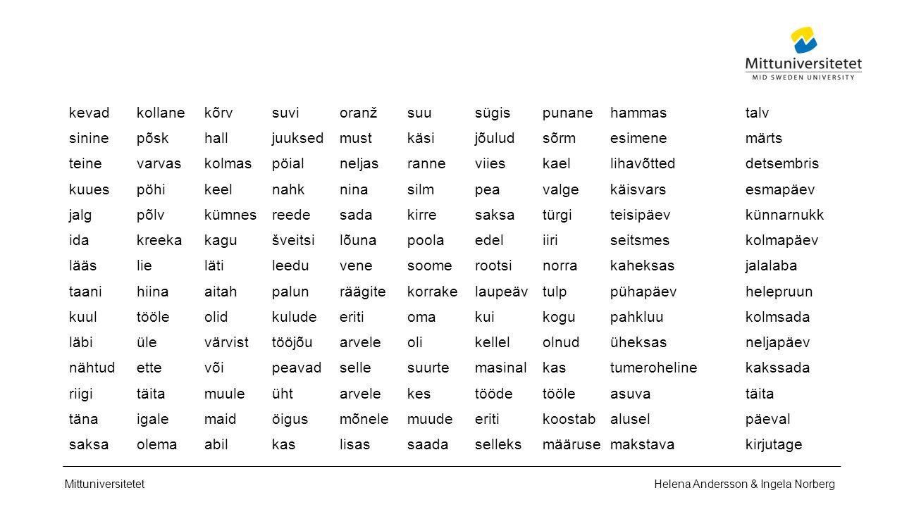 Mittuniversitetet Integration Språket 1 ‒ 2 år för att lära sig ett talspråk 5 ‒ 8 år för att lära sig ett tankespråk Helena Andersson & Ingela Norberg