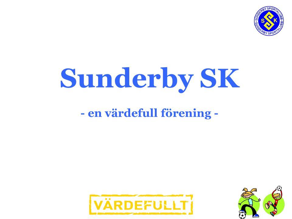 Sunderby SK - en värdefull förening -