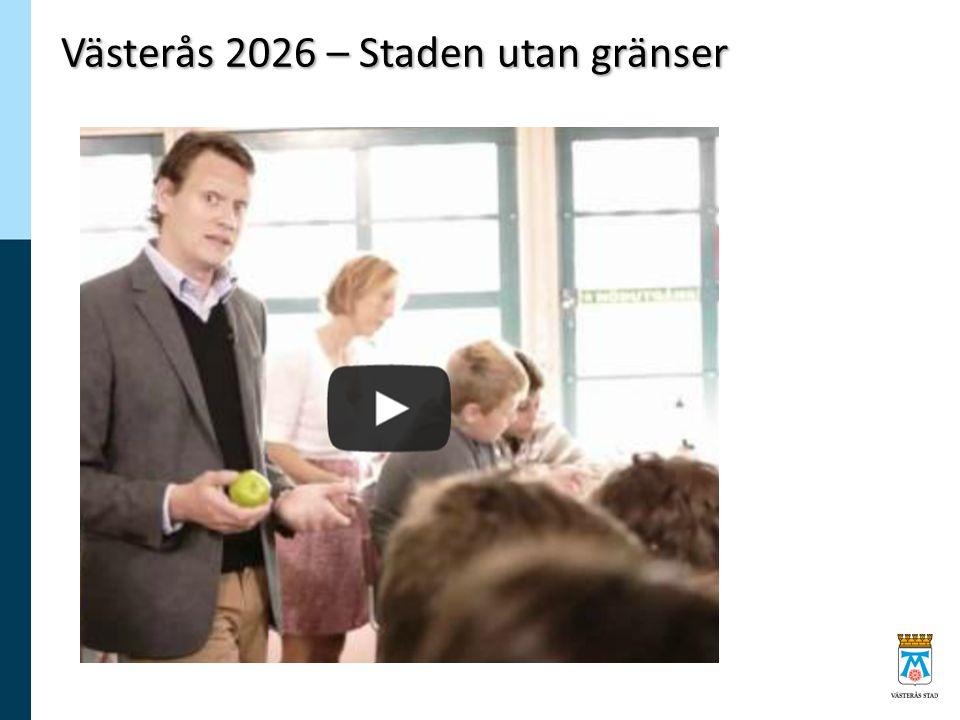 Västerås 2026 – Staden utan gränser