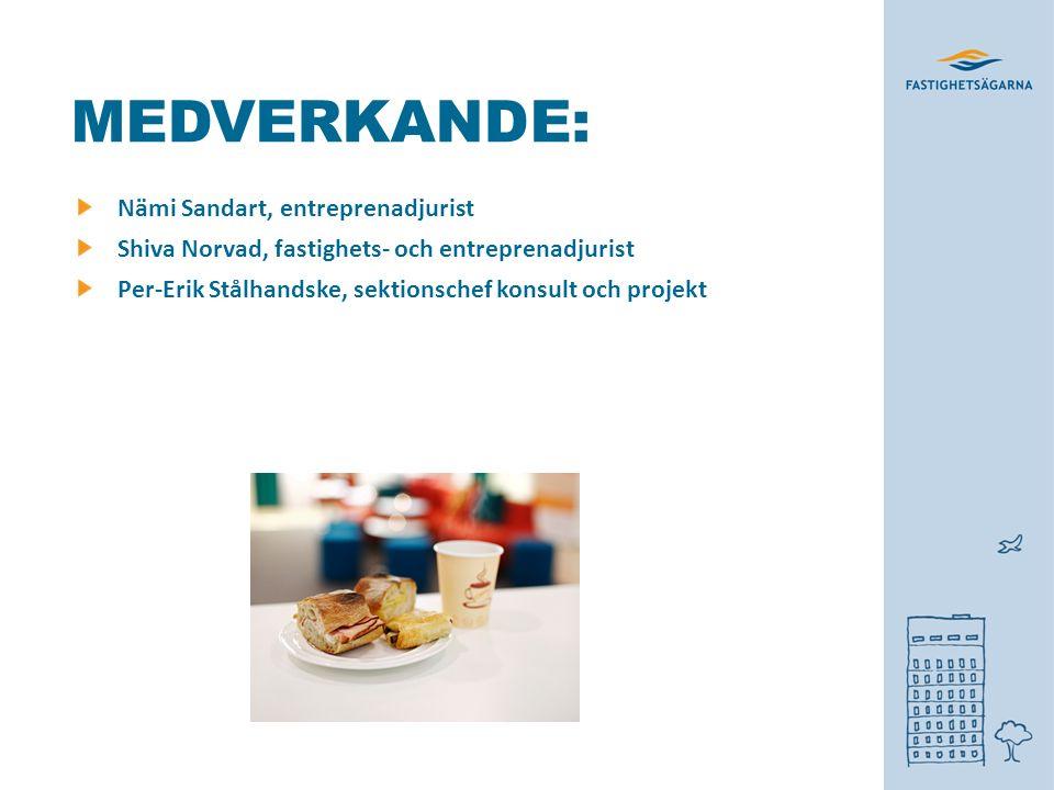 MEDVERKANDE: Nämi Sandart, entreprenadjurist Shiva Norvad, fastighets- och entreprenadjurist Per-Erik Stålhandske, sektionschef konsult och projekt