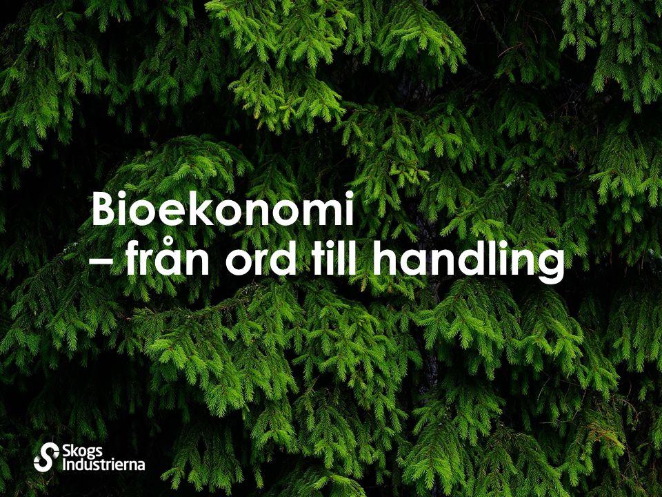 Bioekonomi – från ord till handling