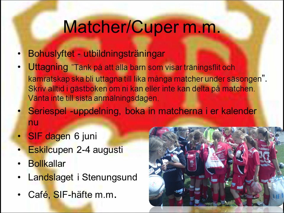 Matcher/Cuper m.m.