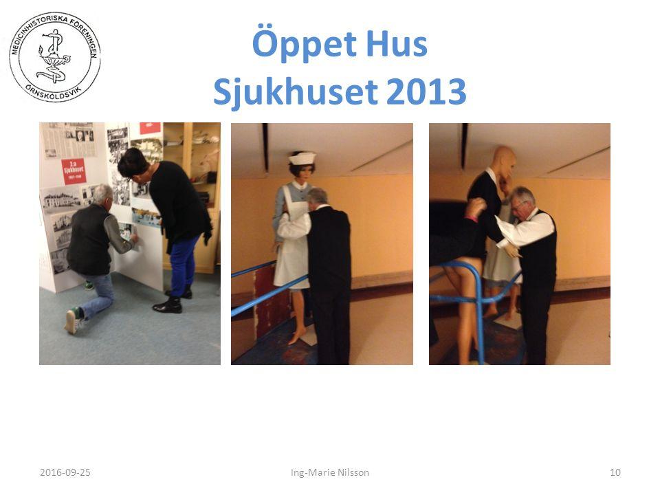 Öppet Hus Sjukhuset 2013 2016-09-2510Ing-Marie Nilsson