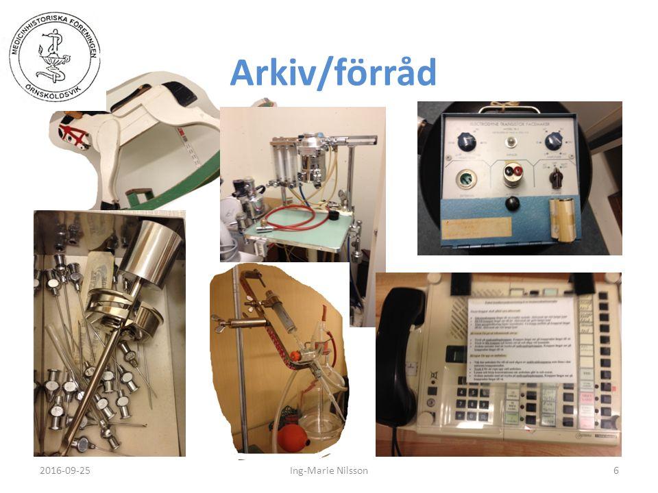 Arkiv/förråd 2016-09-256Ing-Marie Nilsson