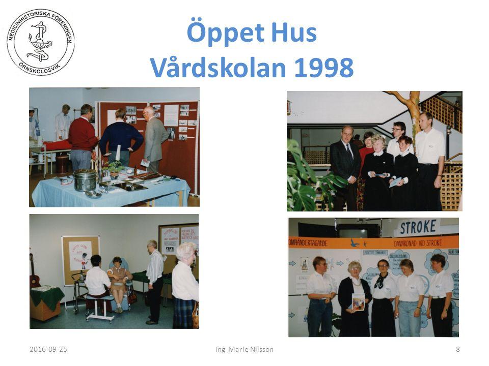 Öppet Hus Vårdskolan 1998 2016-09-258Ing-Marie Nilsson