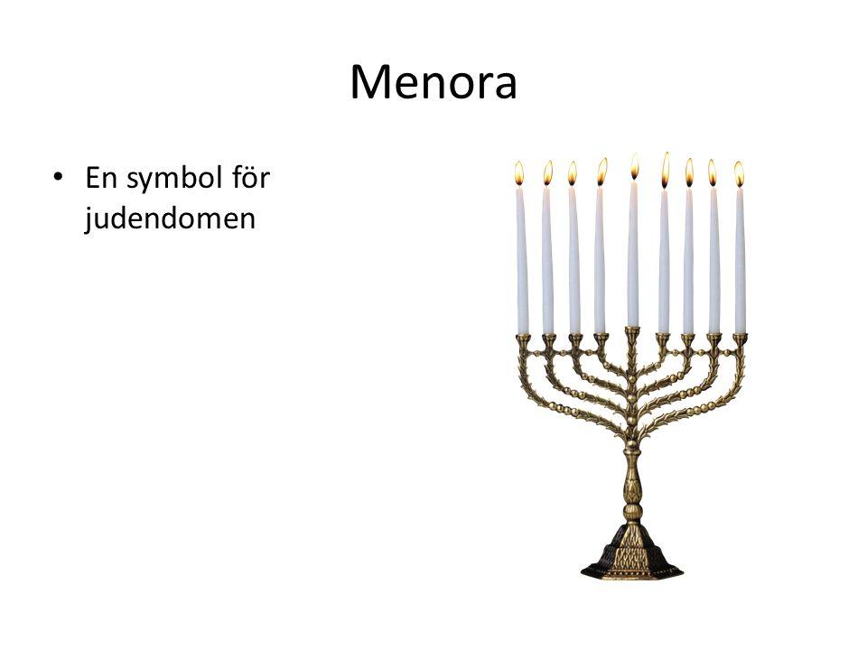 Menora En symbol för judendomen