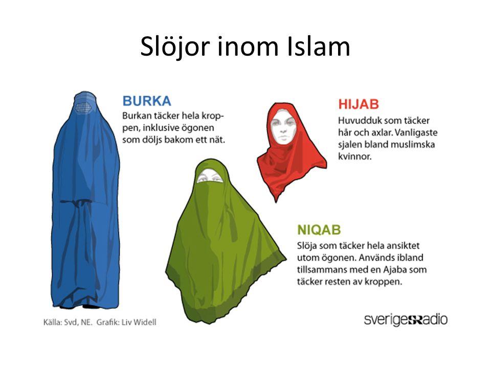 Slöjor inom Islam