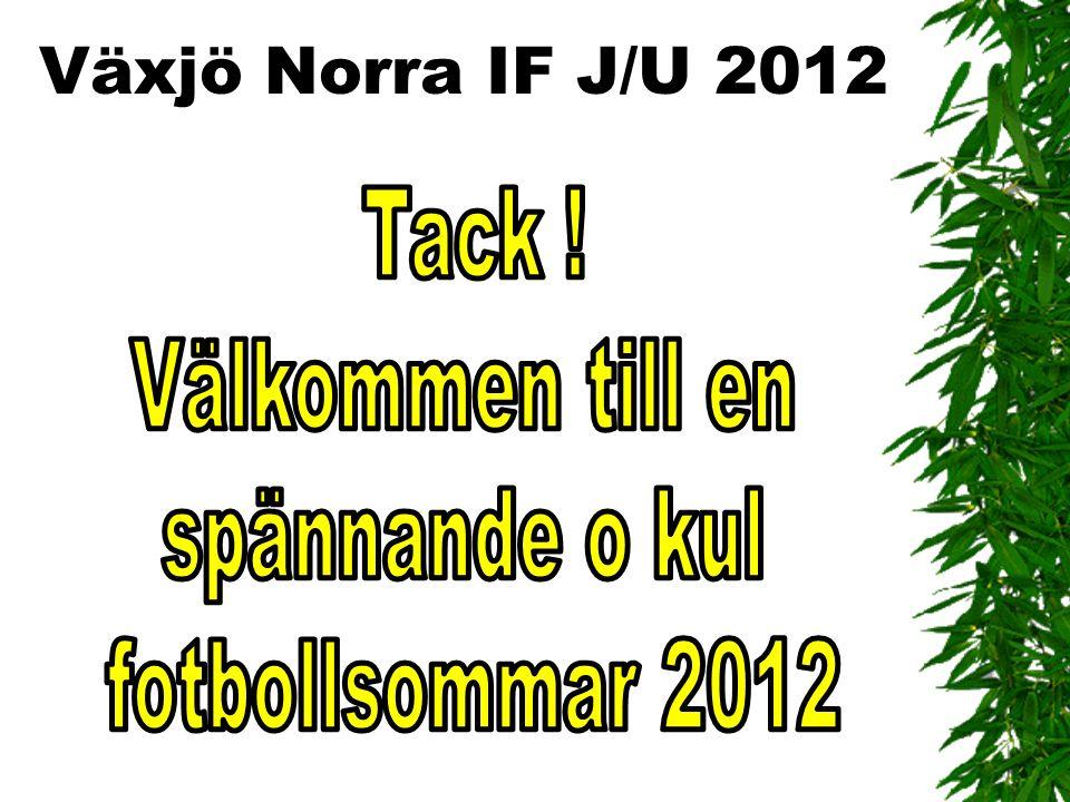 Växjö Norra IF J/U 2012