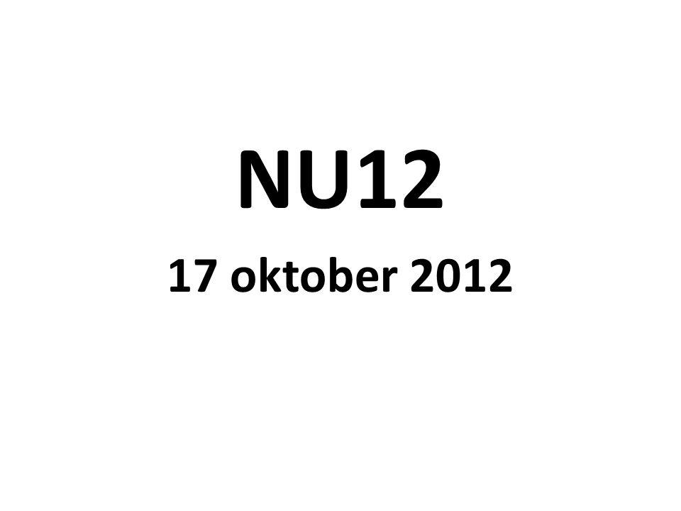 NU12 17 oktober 2012