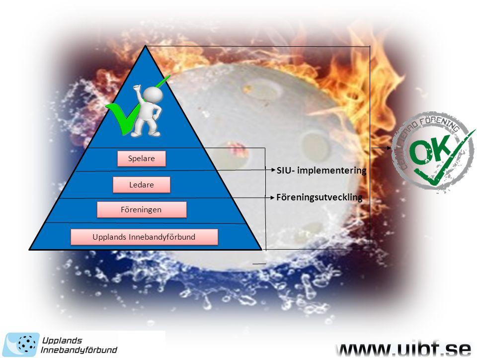 Upplands Innebandyförbund Föreningen Ledare Spelare SIU- implementering Föreningsutveckling