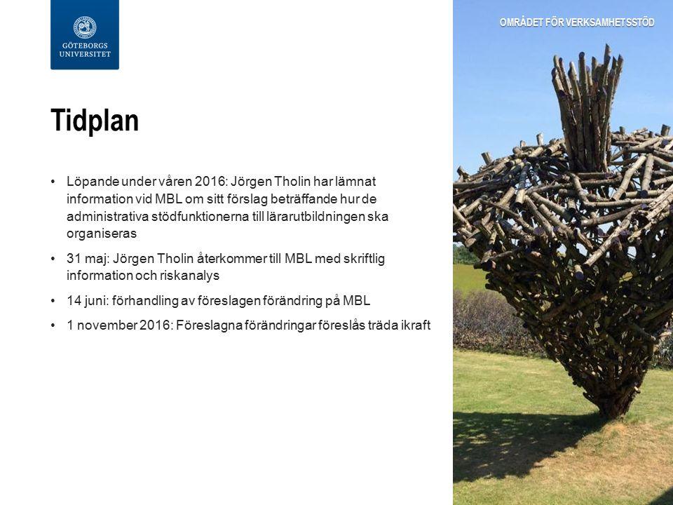 Kontakt Jörgen Tholin, universitetsdirektör, Gemensamma förvaltningen jorgen.tholin@gu.se jorgen.tholin@gu.se Stina Sundling, områdeschef, Området för verksamhetsstöd stina.sundling@gu.se stina.sundling@gu.se OMRÅDET FÖR VERKSAMHETSSTÖD