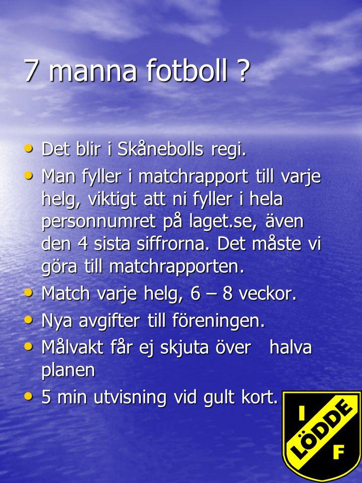 7 manna fotboll . Det blir i Skånebolls regi. Det blir i Skånebolls regi.