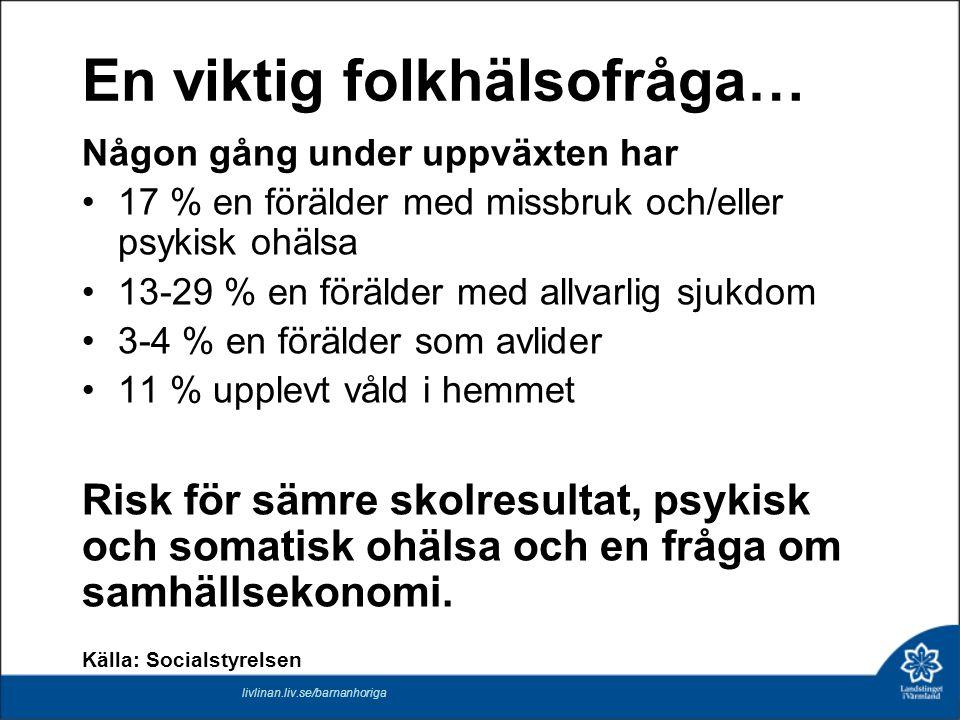 FN:s konvention om barnets rättigheter – handlingsplan för Landstinget i Värmland Ett politiskt beslut som berör drygt 50.000 värmländska barn.